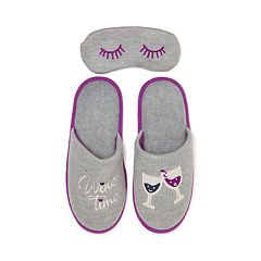 Women's Dearfoams Novelty Scuff Slippers