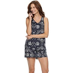 Women s Croft   Barrow® Lush Luxe Sleep Tank and Pajama Shorts Set 3e4eea33c