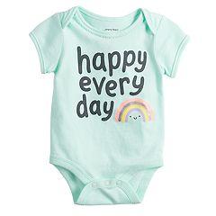 Baby Girl Jumping Beans® Short-Sleeve Bodysuit