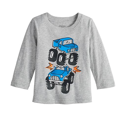41a507a53 Baby Boy Jumping Beans® Monster Trucks Heathered Softest Graphic Tee