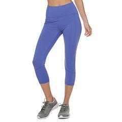 Women's FILA SPORT® Activate Pocket High-Waisted Capri Leggings