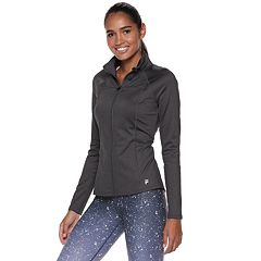 Women's FILA SPORT® Mockneck Zip Up Jacket