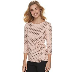 Women's ELLE™ Side-Sash Top