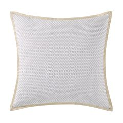 Oceanfront Resort Cove Large Square Throw Pillow