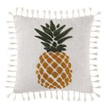 Oceanfront Resort Pineapple Throw Pillow