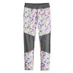 Girls 7-16 SO® Colorblock Performance Leggings