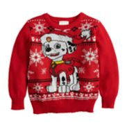 Toddler Boy Jumping Beans® Paw Patrol Marshall Holiday Sweater