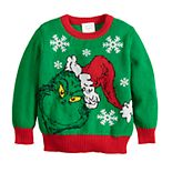 Toddler Boy Jumping Beans® The Grinch Holiday Knit Sweater