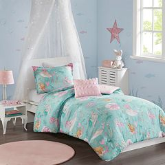 Mi Zone Kids Leilani Printed Mermaid Comforter Set