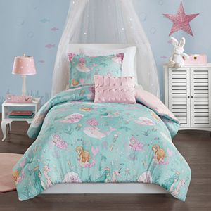 Mi Zone Kids Leilani Printed Mermaid Comforter Set