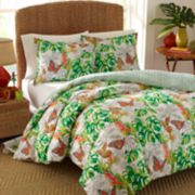 Nine Palms Butterfly Garden Duvet Cover Set