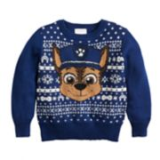 Toddler Boy Jumping Beans® Paw Patrol Chase Holiday Knit Sweater