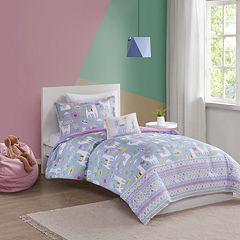 Mi Zone Kids Santiago Printed Llama Comforter Set