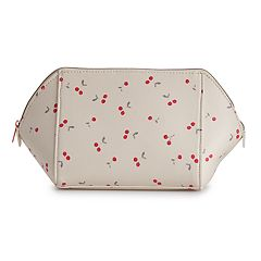 LC Lauren Conrad Cherry Cosmetic Bag