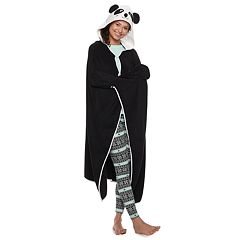 Juniors' PJ Couture Panda Blanket Robe