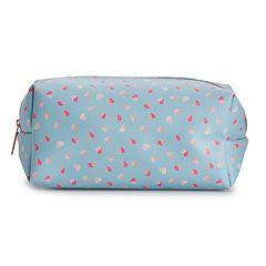 LC Lauren Conrad Heart Cosmetic Bag