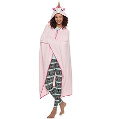 Juniors' PJ Couture Unicorn Blanket Robe