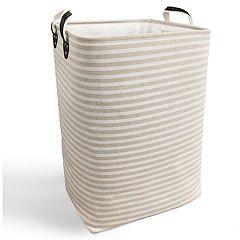 SOHO Market Linen Stripe Hamper