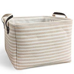 SOHO Market Linen Stripe Large Bin