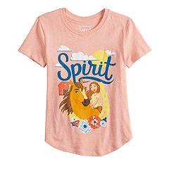 Girls 7-16 DreamWorks' 'Spirit: Stallion of the Cimarron' Graphic Tee