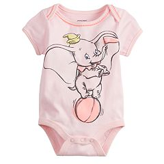 Disney's Dumbo Baby Girl Picot-Trim Bodysuit by Jumping Beans®