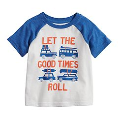 Toddler Boy Jumping Beans® Vehicle Raglan Graphic Tee