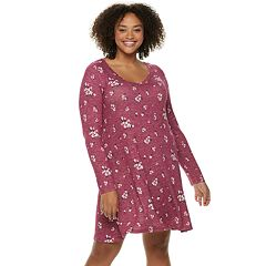 Juniors' Plus Size SO® Long Sleeve Sheath Dress