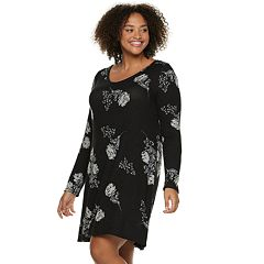 Juniors' Plus Size SO® Long Sleeve Sheath Dress