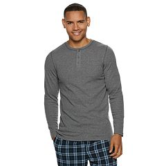 Big & Tall Hanes Ultimate X-Temp Waffle-Weave Henley