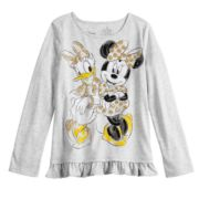 Disney's Minnie Mouse & Daisy Duck Toddler Girl Glittery Graphic Top by Jumping Beans®