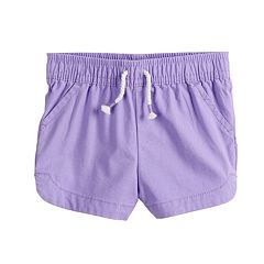 Toddler Girl Jumping Beans® Solid Dolphin-Hem Shorts