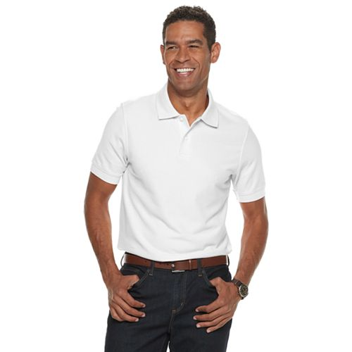 Men's Croft & Barrow® Slim-Fit Easy-Care Pique Polo