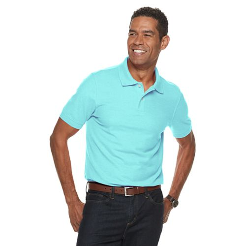 Men's Croft &Amp; Barrow® Slim Fit Easy Care Pique Polo by Croft &Amp; Barrow