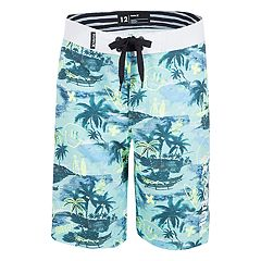 Boys 8-20 Hurley Tropical Doodle Graphic Printed Board Shorts