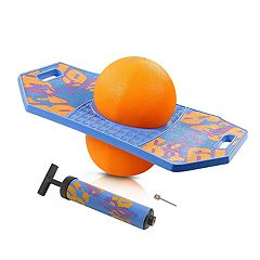 Flybar Pogo Ball Trick Board With Grip Tape & Ball Pump