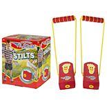 Flybar Stomp & Squeak Stilts - Red