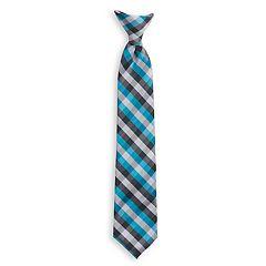 Boys 4-20 Chaps Plaid Clip-On Tie