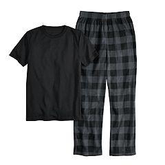 Boys 6-20 Urban Pipeline® Tee & Fleece Plants Sleep Set
