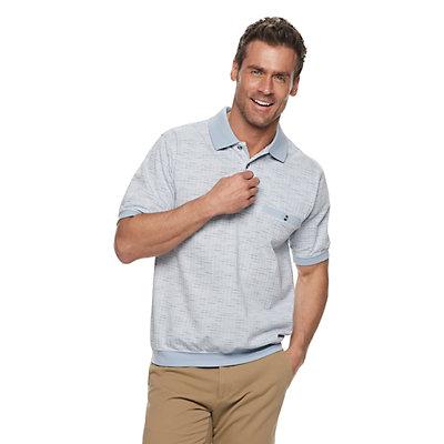 Men's Safe Harbor Regular-Fit Banded-Bottom Polo