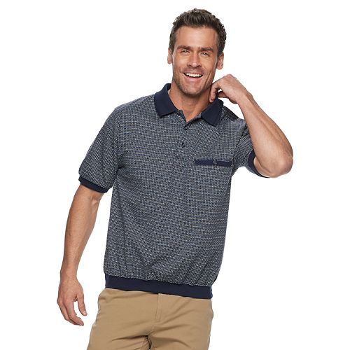 Men's Safe Harbor Regular-Fit Banded-Bottom Polo
