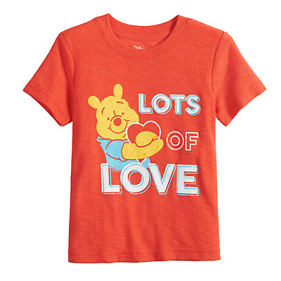 Disney's Winnie the Pooh Toddler Boy Snow Heathered Graphic Tee by Jumping Beans®
