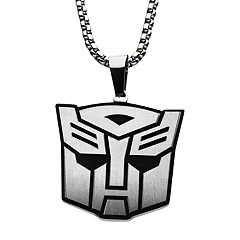 Transformers Stainless Steel Autobot Pendant