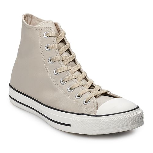 4a65e26521cb Men s Converse Chuck Taylor All Star Leather High Top Shoes