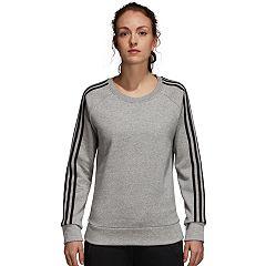 Women's adidas 3-Stripe Fleece Crew Sweatshirt