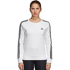 Women's adidas 3-Stripe Fleece Crew Sweatshirt