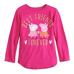 Toddler Girl Jumping Beans® Peppa Pig 'Best Friends Forever' Graphic Tee