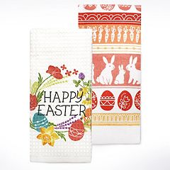 Celebrate Easter Together 'Happy Easter' Kitchen Towel 2-pack