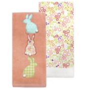 Celebrate Easter Together Easter Bunny Bum Kitchen Towel 2-pk.