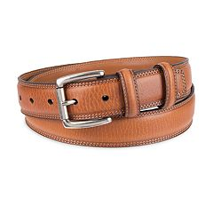 Men's Chaps Dress Leather Belt