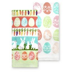 Celebrate Easter Together Easter Icon Kitchen Towel 2-pk.